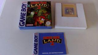Donkey Kong Land 2, game boy