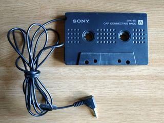 Adaptador original Sony para cassette coche