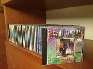 Colección de 40 CD música Euskera