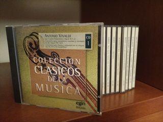 Colección de 16 CDs de música clásica