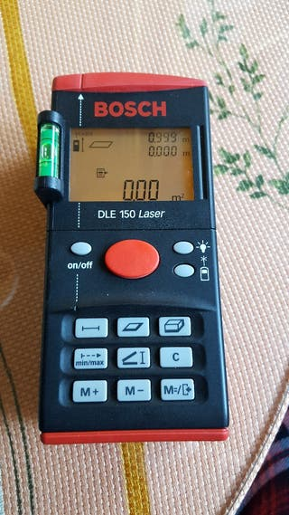 Medidor laser Bosch DLE 150
