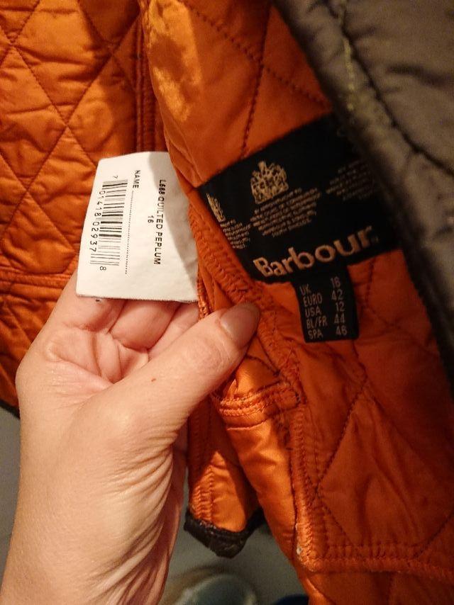 Barbour mujer, abrigo ligero