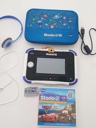 Tablet para niños Storio 3S VTec más juego Cars 2