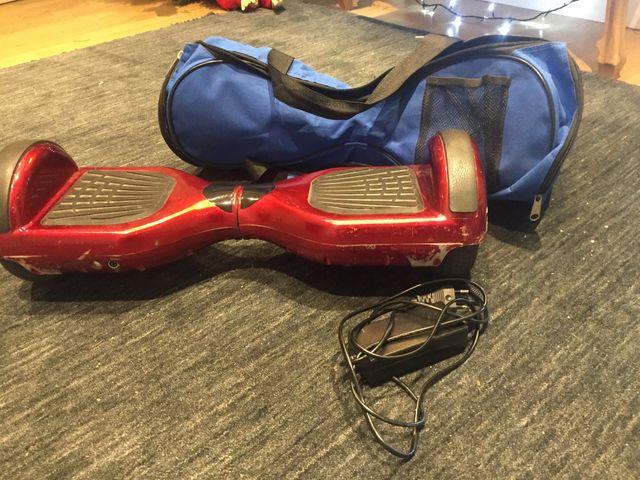Hoverboard rojo, el Original