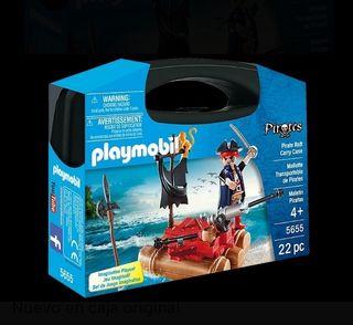 Maletin Pirata con balsa Playmobil