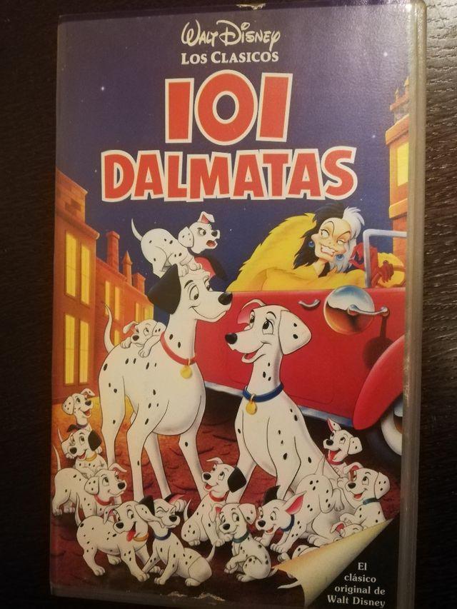 101 dálmatas VHS