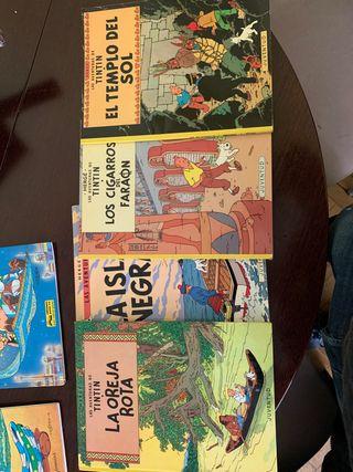 4 cómics Tintín