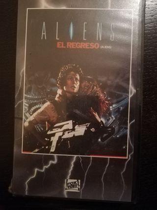 Aliens el regreso VHS
