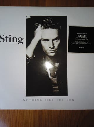 "Sting ""...Nothing like the Sun"" doble vinilo LP"