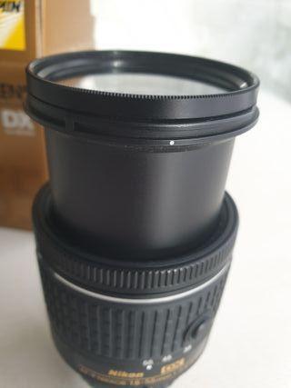 Nikkor (Nikon) AF-P DX 18-55mm f3.5-5.6 +Filtro UV