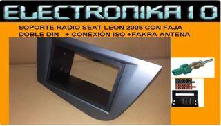 CONEXIONES ISO Y ANTENA Seat Leon Altea Toledo ISO  Fakra TELEALIMENTADOR
