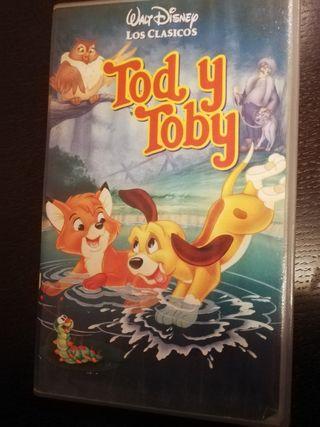 Tod y Toby VHS