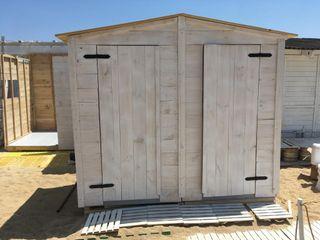Caseta cobertizo madera palets todas medidas