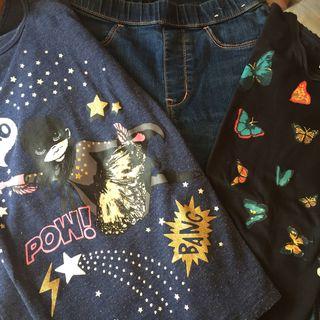 Lote ropa niña 6 7 8 años Zara H&M