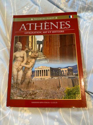 Livre sur la ville d'Athenes