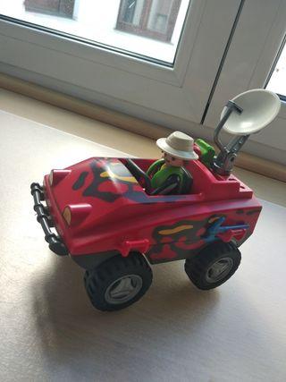 Coche y moto Playmobil