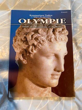 Livre sur la ville d'Olympe et ses origines