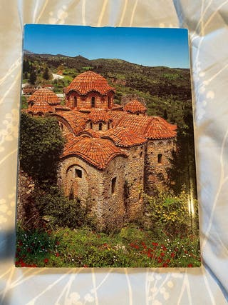 Livre sur la ville de Mistra (Grèce)