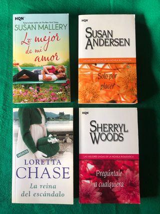 Lote libros novela romántica.