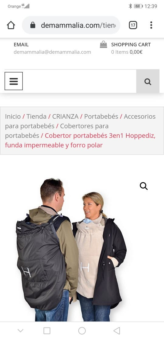 Cobertor portabebés 3en1 Hoppediz+Marsupi 2.0