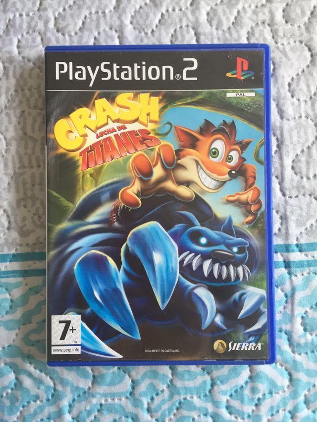 Juego Crash PS2