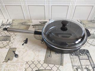 sartén de hierro fundido 28cm