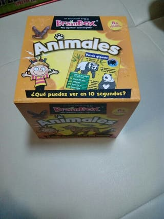 Juego Educativo BrainBox animales