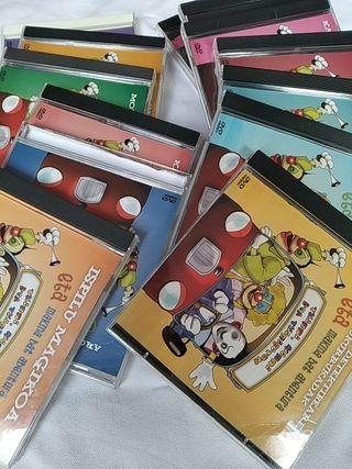 Colección DVD Txirri, Mirri eta Txiribiton