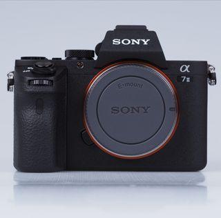 Sony A7 II +objetivo sony + convertidor para canon