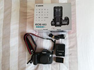 Cámara Canon EOS 60D cuerpo