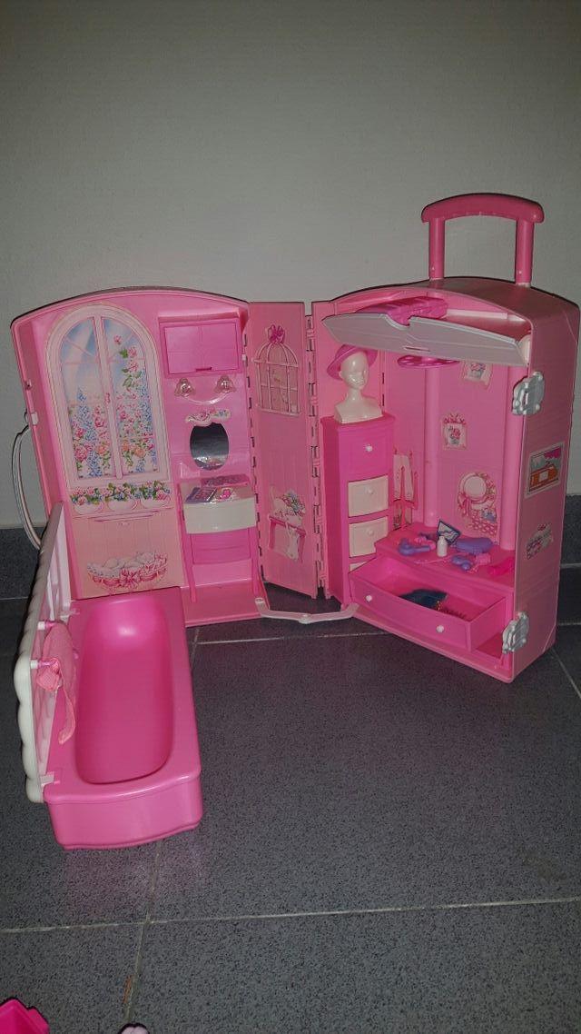 Casa maletín Barbie