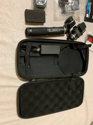 GoPro Hero 7 Black + Gimbal FTech 5 +acces.