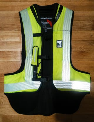 Chaleco airbag moto