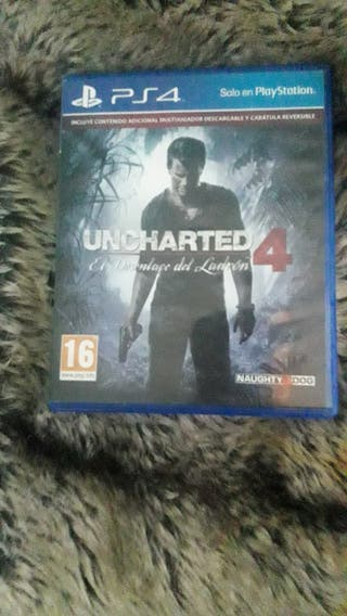 juego pa la PS4 UNCHARTED 4