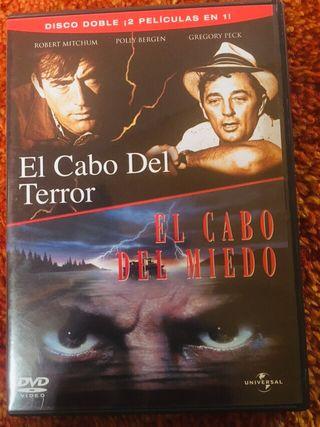 PACK 2dvd - El cabo del miedo / terror