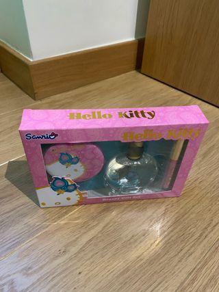 Colonia y set belleza Hello Kitty para niñas