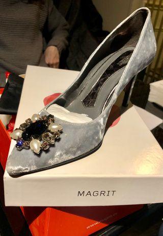 Zapatos novia Magrit