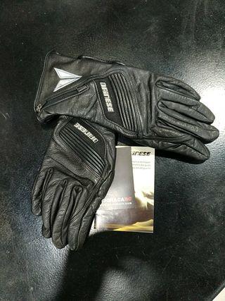 guantes piel dainese nuevos