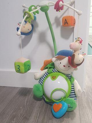 juguete cuna