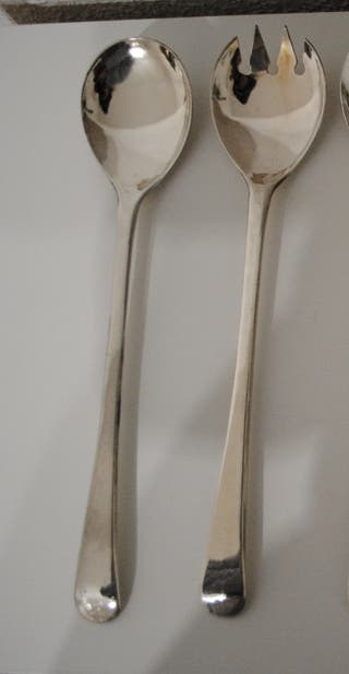 cubiertos ensalada. cuchara - tenedor.
