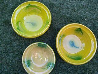 Pack 3 platos hondos cerámica