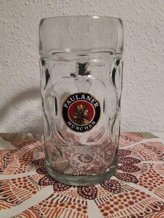 Jarra cerveza litro Paulaner
