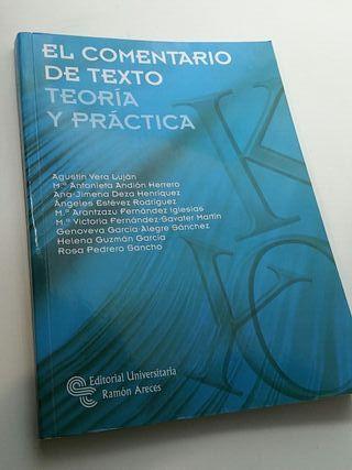 El comentario de texto, teoría y práctica