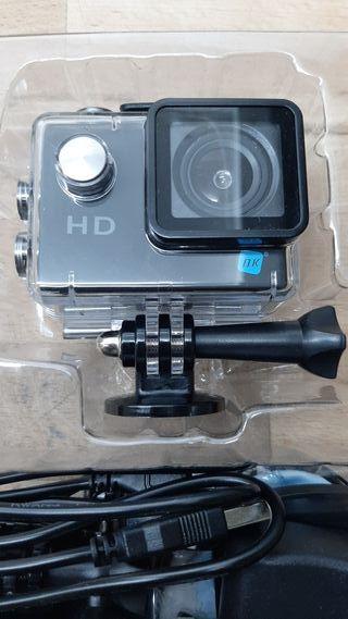 Cámara deportiva - NK Delta, Full HD 1080p, 30 fps