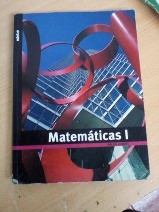 MATEMÁTICAS 1 BACHILLERATO EDEBE