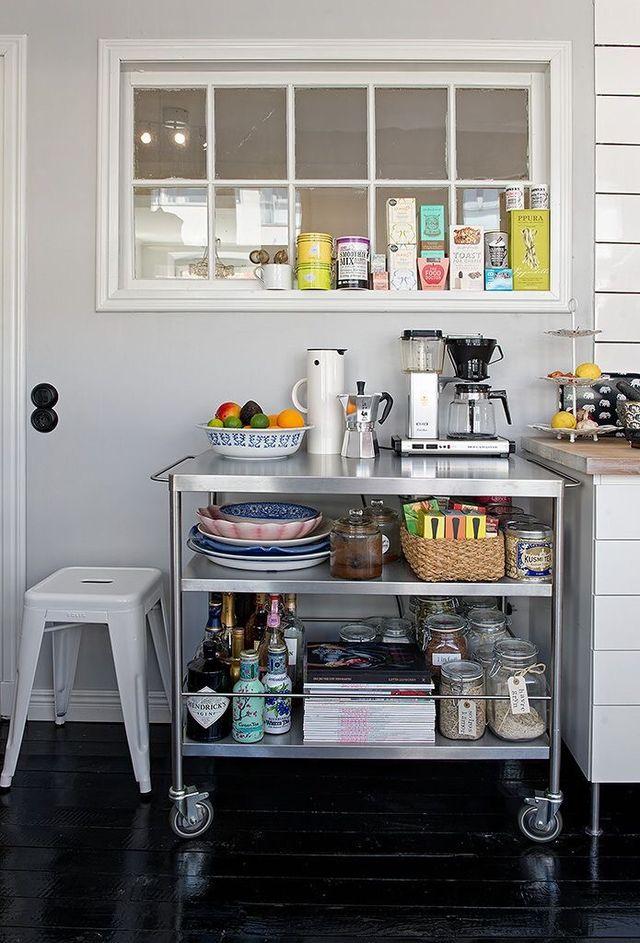 Mueble auxiliar cocina / camarera FLYTTA IKEA de segunda ...