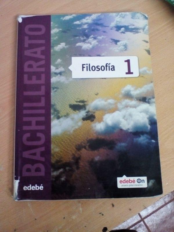 FILOSOFÍA 1 BACHILLERATO EDEBE