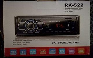 RADIO BLUETOOTH CON MP3