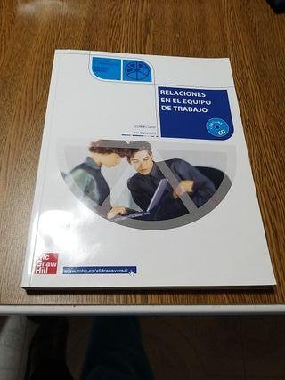 Libro de texto Relaciones en el Equipo de Trabajo