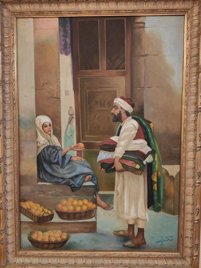 Cuadro Hamdi Zaki